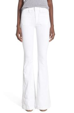 Hudson Jeans 'Taylor' Flare Jeans (White)