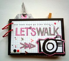 """menudamonada: Mini """"Let´s walk"""" con tutorial"""