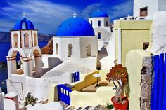 Full Wall Size Mural Photo of: Colors of Santorini. Prepasted, Dry Strippable, Removable, Reusable, And Washable. View our video for an easy installation. Multi sizes available. wide by high) Ancient Ruins, Ancient Greece, Greece Hotels, Find Hotels, Rest Of The World, Greece Travel, Santorini, Taj Mahal, How To Remove