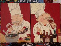 Afbeeldingsresultaat voor schilderij dikke kok