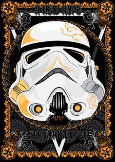 Stormtrooper / Ilustración de Miixck Design