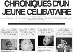 Choses vues (21/01/2013)  Chroniques d'un jeune célibataire, tu connais ? - #lcdjc #amour #celibataire #sentiments #presse