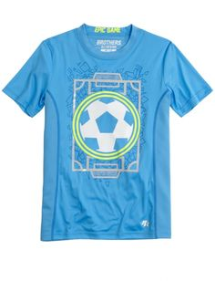 "Justice ""Brothers"" Epic Game soccer field t shirt (Custom sized)"