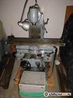 Eladó Strigon ME1000 univerzális marógép (Szerszámgép - Eszterga, marógép és tartozékai)