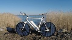 #eBike Innovation ohne Steckdose - wohl nur was für Schönwetter-Fahrer ;)