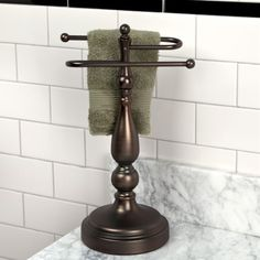 Ridgefield Countertop Towel Holder