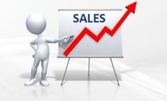 Sales in internet marketing. How you see it  is increase.