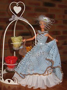 robe de princesse - tuto crochet                                                                                                                                                                                 Plus