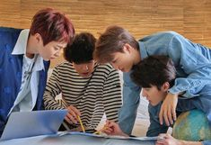 Xiumin, Chanyeol, Kai e Sehun Exo Group Photo, Exo Korea, Exo Official, Exo Album, Exo Xiumin, Park Chanyeol, Kim Jongdae, Exo Members, Kpop