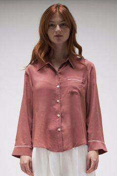 Smoky Pink Long Sleeve Shirt