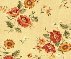 #quilt #fabric, 4 Yds, from Andover, Embroidery Bouquet, by Designer Gail Kessler, Floral, Daisies, Very Hard to Find Print!  Under 30 U S Dollars with FREE Shipping, too!  Great Sale for You!
