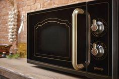 Mirovlnná trouba. Designová linie Classico od Gorenje. #gorenje #design #simplicity #spotrebice #appliances #home #domov #mikrovlnnatrouba #mikrovlnka