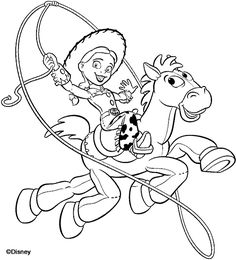 Toy story coloring book pages Coloring Pages Pinterest Toy