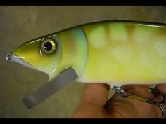Lure Painting: How to Paint a Pike Crankbait - Marling Baits