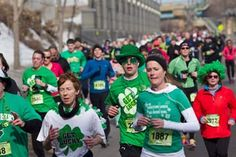Running the Get Lucky Half Marathon in St. Paul, MN on March 17th