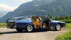 1978 Lamborghini Faena. A one-off 4-door variant of the Espada.