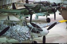 Me-110 at RAF Museum Hendon
