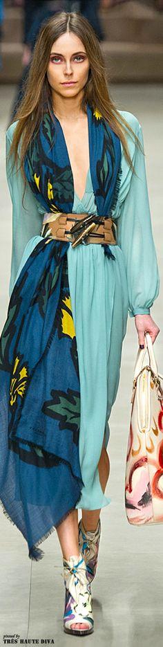 Burberry Prorsum F/W 2014 - London Fashion Week #deeppassionatelove
