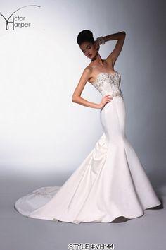 Victor Harper Collection spring 2014, style #VH144 #weddingdress #weddinggown #bridalgown  LOVE! :)