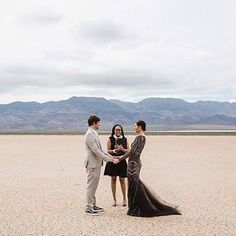 Las Vegas licensing rules means you can have your elopement ceremony anywhere and if you're looking for someone to make it legal hit up my girl @xoxojamelle  Photography: @jannekestorm