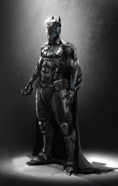"""lucfonz: """" Batman Redesign http://lucfonzy.deviantart.com/ http://lucfonz.blogspot.co.uk/ """""""