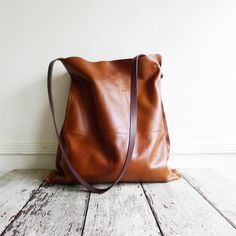 Image of SADDLEBAG - tan leather [ONE IN STOCK]