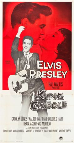 "Movie Posters:Elvis Presley, King Creole (Paramount, 1958). Three Sheet (41"" X 79.5"").. ... Image #1"
