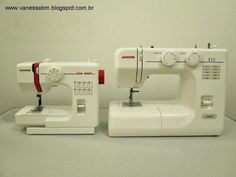 Vanessa Biali: Qual a melhor máquina de costura para iniciantes?