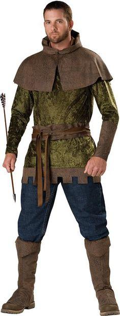 Amazon.com: InCharacter Costumes, LLC Robin Hood Of Nottingham Set: Adult Sized Costumes: Clothing