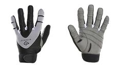 Bionic Mens PerformanceGrip Full Finger Fitness Gloves Large BlackGrey *** Find out more about the great product at the image link.