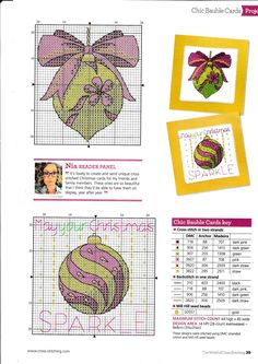"Photo from album ""The World of Cross Stitching No.Disk - The World of Cross Stitching No. Discussion on LiveInternet – Russian Service of Onli - Cross Stitch Christmas Cards, Xmas Cross Stitch, Cross Stitch Bookmarks, Cross Stitch Cards, Cross Stitch Borders, Cross Stitch Baby, Cross Stitch Kits, Christmas Cross, Cross Stitch Designs"