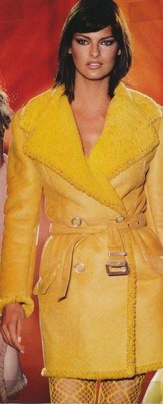 Linda Evangelista: Versace, 1994