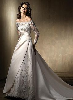 wedding dresses long sleeve