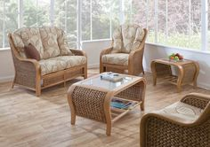 Living Room Wicker Rattan Sofa Set And Glass Top Coffee Table With Storage Completing the wonderful living room furniture by visiting the outlet furniture