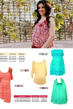 8a2562a6d Colores vibrantes en tonos de pastel predominan para Maternidad en Maria  Ferre