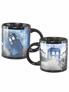 Dr Who Tardis Heat Changing Mug