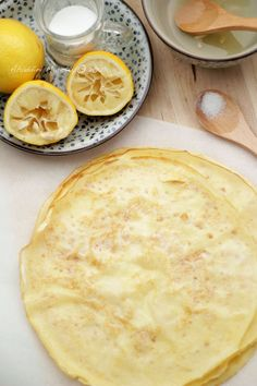 Lemon Sugar Crepes