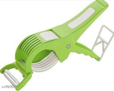 Graters 2 In 1 Cutter With Peeler Material : Stainless Steel & Plastic Dimension ( L X B X H ) : 15 cm X 10 cm X 10 cm Size : Medium Description : It Has 1 Piece Of 2 In 1 Cutter With Peeler Country of Origin: India Sizes Available: Free Size   Catalog Rating: ★3.9 (1250)  Catalog Name: Unique Kitchen Tools Vol 10 CatalogID_233835 C135-SC1645 Code: 071-1781570-552