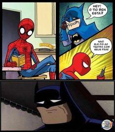 Passando um trote no Homem Aranha