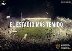 La bombonera  Fue elegido como el estadio mas temido y dificil para jugar de visitante en la copa libertadores