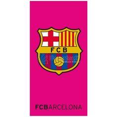 Toalla Playa Fucsia Barcelona - Bazartextil.com