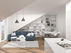 Vizualizace chystané rekonstrukce bytu v Brně na ulici Přadlácká. #homedesign #inspiration #livingroom #decoration #homedecoration