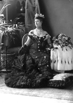 HM Queen Alexandra of Great Britain (1844-1925), wife of King Edward II.