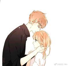 Another one, same manga Best Anime Couples, Romantic Anime Couples, Anime Couples Manga, Cute Couples, Anime Cupples, Manga Anime Girl, Manga Love, Anime Kawaii, Manga Couple