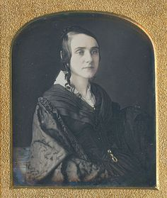 daguerreotyped circa 1845 on a resealed sixth plate