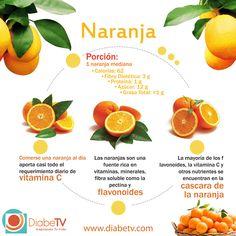 beneficios de la naranja para diabetes.- AUN CON DIABETES…DISFRUTA DE LA NARANJA!