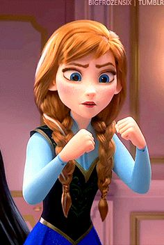 ❝Wait, what?❞ Why does Anna in Ralph Breaks the Internet have the white hair streak? {Frozen, Wreck it Ralph Disney Princess Pictures, Disney Princess Drawings, Disney Princess Art, Disney Fan Art, Disney Pictures, Princess Anna, Frozen Disney, Anna Disney, Anna Frozen