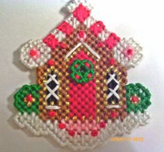 Gingerbread House ornament or Magnet by angelsandcrafts on Etsy, $5.50