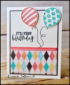 Hello my sweet stampin' friends! I hope everyone had a fantastic weekend! I'll have to share about my weekend. It did not go as planned…. but in a good way. &nbs…
