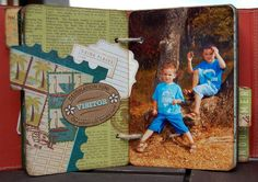"""Mini album """"Palamos 2010"""" - From page to page"""